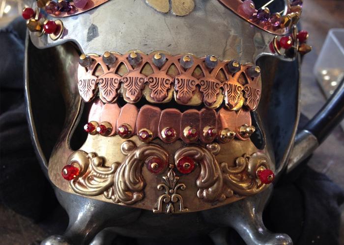 Temple Skull
